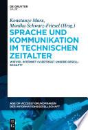 Sprache Und Kommunikation Im Technischen Zeitalter book