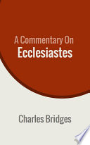 A Commentary on Ecclesiastes