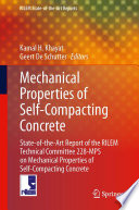 Mechanical Properties of Self Compacting Concrete