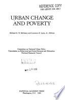 Urban Change and Poverty