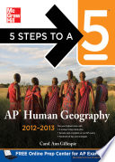 5 Steps to a 5 AP Human Geography  2012 2013 Edition