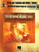 Book Stevie Ray Vaughan and Double Trouble - Live at Montreux 1982 & 1985 (Songbook)