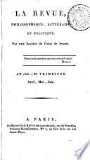 illustration du livre La Décade philosophique, littéraire et politique