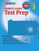 Spectrum Pennsylvania Test Prep  Grade 3