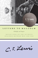 Letters To Malcolm book