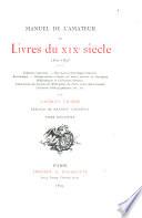Manuel de l'amateur de livres du XIXe siècle, 1801-1893: A-Z