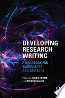 Developing Research Writing