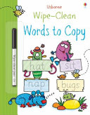 Wipe Clean Words to Copy