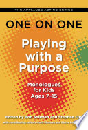 download ebook one on one: playing with a purpose pdf epub