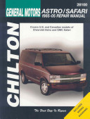 Chilton s General Motors Astro Safari 1985 05 Repair Manual