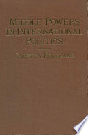 Middle Powers in International Politics