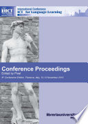 Conference proceedings  ICT for language learning
