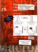 Macromolecular Chemistry And Physics book