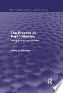 The Practice of Psychotherapy  Psychology Revivals