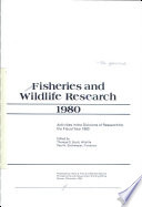 Fisheries And Wildlife Research