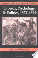 Crowds  Psychology  and Politics  1871 1899