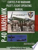 P 40 Warhawk Pilot S Flight Operating Manual