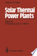 Solar Thermal Power Plants