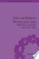 Exile and Religious Identity  1500   1800