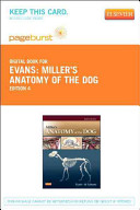Miller s Anatomy of the Dog   Pageburst E Book on Vitalsource  Retail Access Card