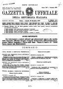 Gazzetta ufficiale della Repubblica italiana  Parte prima  serie generale