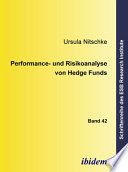 Performance- und Risikoanalyse von Hedge Funds