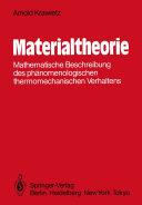 Materialtheorie