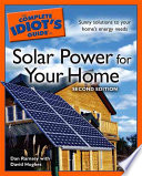 The Complete Idiot s Guide to Solar Power for Your Home