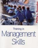 Training in Management Skills