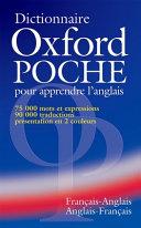 Dictionnaire Oxford Poche pour apprendre l anglais  fran  ais anglais   anglais fran  ais