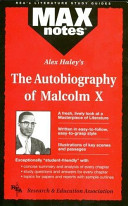 The Autobiography of Malcolm X  With the Assistance of Alex Haley