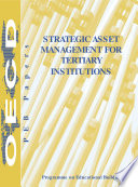 Programme on Educational Building   PEB Papers Strategic Asset Management for Tertiary Institutions