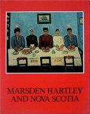 Marsden Hartley and Nova Scotia