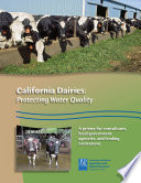 California Dairies  Protecting Water Quality