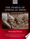 The Temple Of Athena At Assos book