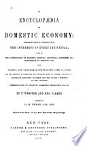 An Encyclopædia of Domestic Economy ...