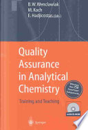 Quality Assurance in Analytical Chemistry