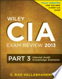 Wiley CIA Exam Review 2013  Internal Audit Knowledge Elements