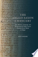 The Anglo Saxon Chancery