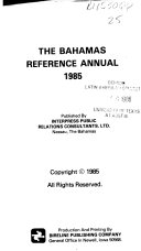 The Bahamas reference annual