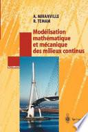 Mod  lisation math  matique et m  canique des milieux continus
