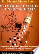 Primeros auxilios con homeopatía