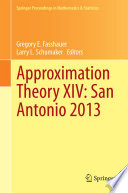 Approximation Theory XIV  San Antonio 2013