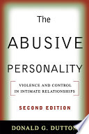 The Abusive Personality Second Edition