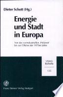 Energie und Stadt in Europa