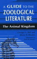 A Guide to the Zoological Literature Reference Librarians Students Zoologists Conservationists