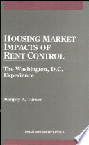 Housing Market Impacts of Rent Control