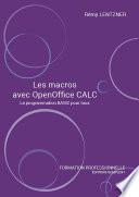 illustration Les macros avec OpenOffice CALC