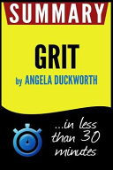 Summary of Grit
