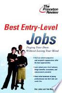 Best Entry-level Jobs